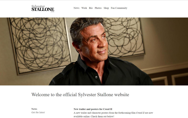 СайтСильвестра Сталлоне
