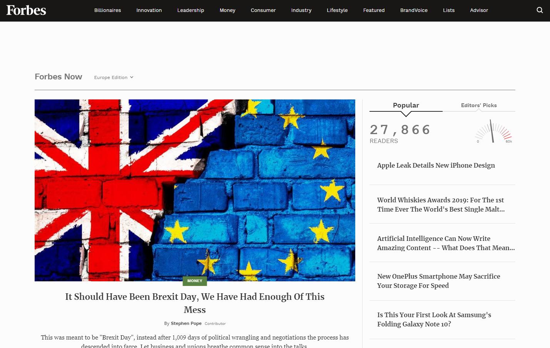 Официальный сайтForbes